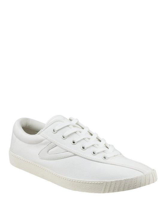 TRETORN NYLITE CANVAS SNEAKER, WHITE, productTileDesktop