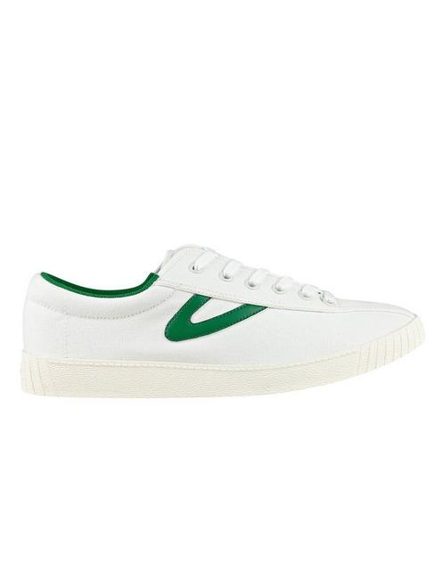TRETORN NYLITE SNEAKER, WHITE/GREEN
