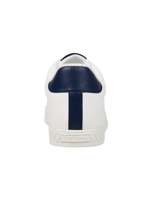 TRETORN CALLIE LEATHER SNEAKER, WHITE/BLUE
