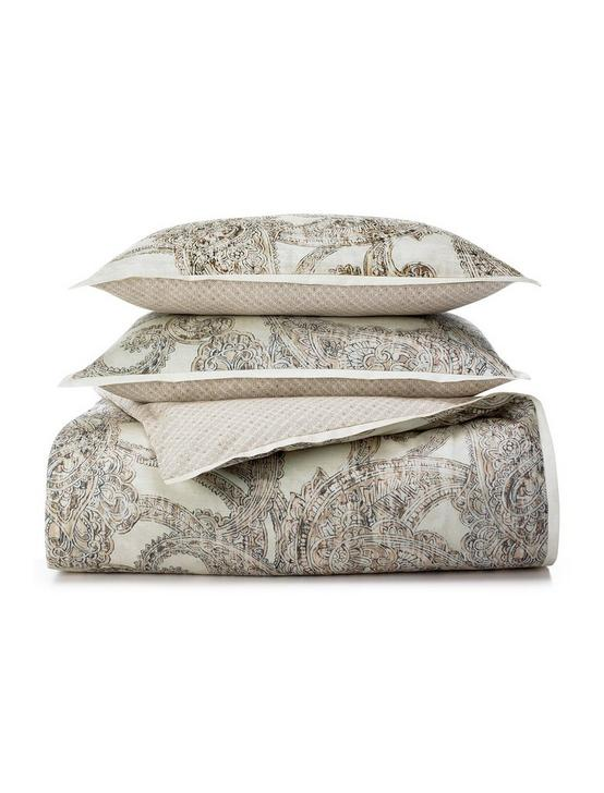 LEILA KING PILLOWCASE SET, MEDIUM LIGHT BEIGE, productTileDesktop