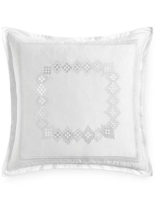 STITCHED DIAMOND EURO SHAM,