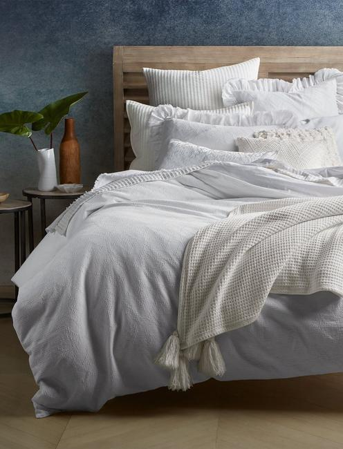 VENTURA TWIN DUVET SET, NATURAL