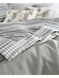 SMOKE JERSEY SHEET SET, MEDIUM DARK GREY