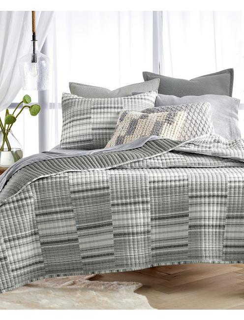 Lucky Broken Stripe Quilt