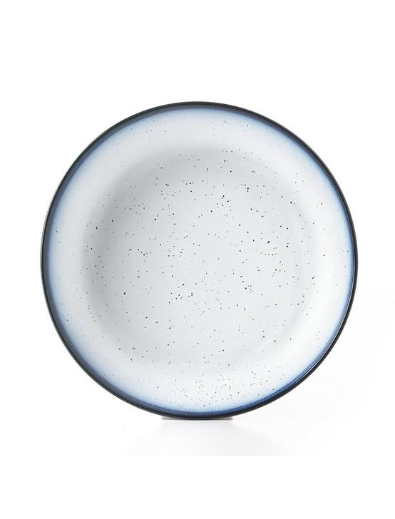 BLUE EDGE DINNER BOWL, WHITE W/ BLUE EDGE, productTileDesktop
