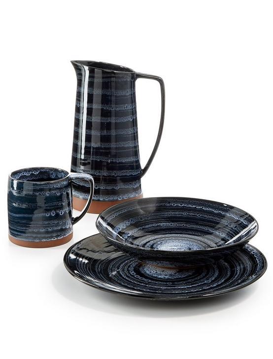 BLUE WASH DINNER PLATE, BLUE, productTileDesktop