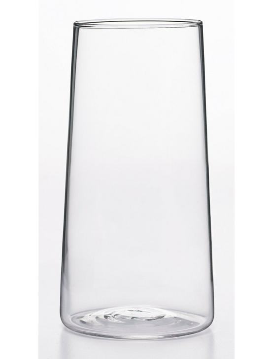 SET OF 4 HIGHBALL CLEAR GLASSES, CLEAR, productTileDesktop