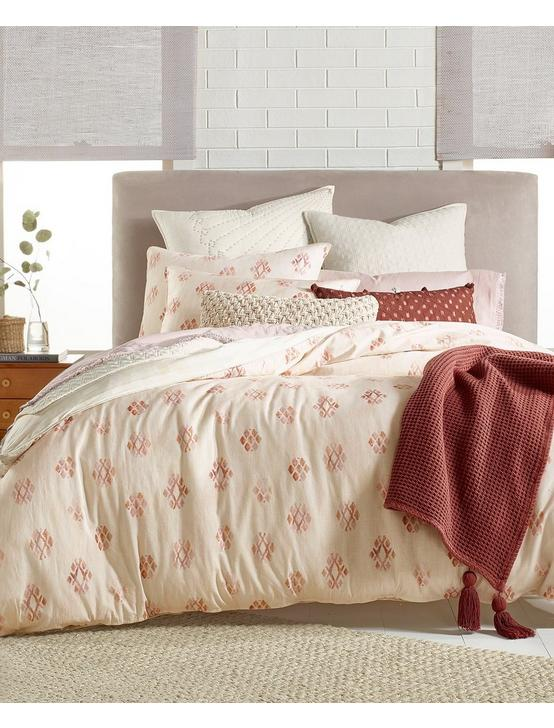 JOSHUA TREE DUVET SET, DARK PINK, productTileDesktop