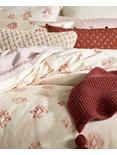 JOSHUA TREE DUVET SET, DARK PINK