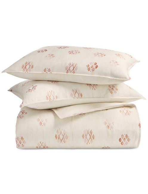 JOSHUA TREE COMFORTER SET, DARK PINK