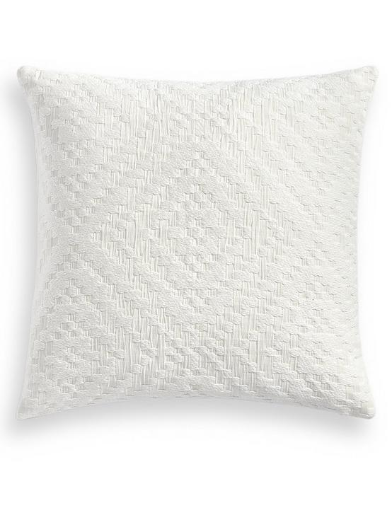 DIAMANTE M DECORATIVE 18X18 PILLOW, NATURAL, productTileDesktop