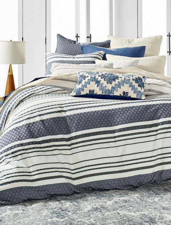 STRIPE DUVET SET, RINSE, productTileDesktop