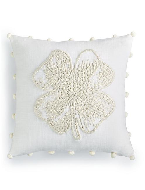 CLOVER DECORATIVE 18X18 PILLOW,