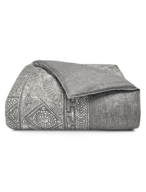 BALI BATIK DUVET SET, DARK GREY
