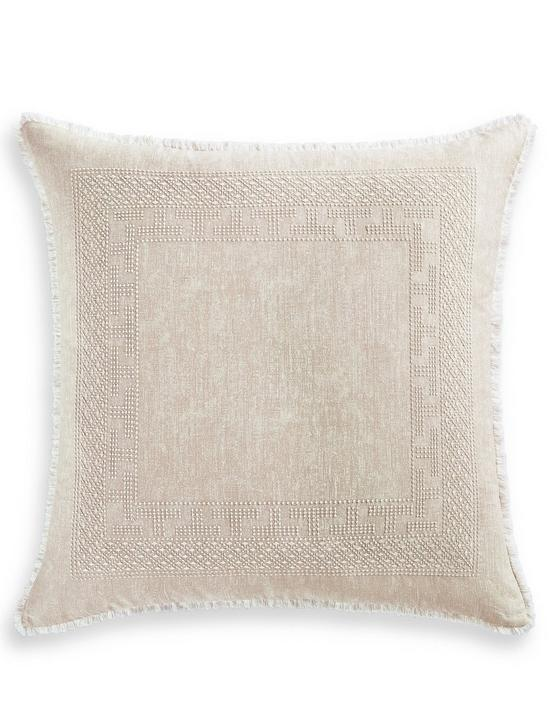 BALI BATIK EURO PILLOW SHAM, MEDIUM BEIGE, productTileDesktop