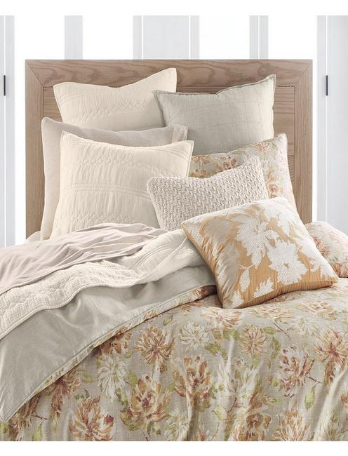 HAYDEN COMFORTER SET, GOLD