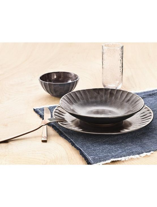 12 PIECE DINNER SET - GRAPHITE, NO COLOR, productTileDesktop