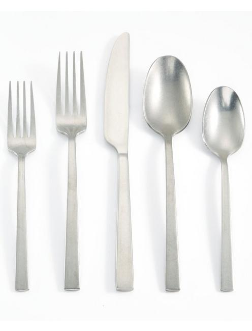 STAINLESS RUMBLE 20 PIECE FLATWARE SET, NO COLOR