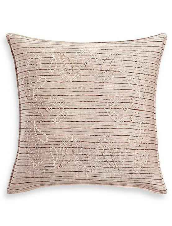 BRIANNA EURO SHAM, DARK RED, productTileDesktop