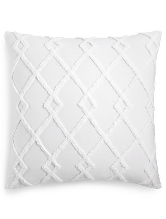 DIAMOND TUFTED EURO SHAM, NATURAL, productTileDesktop