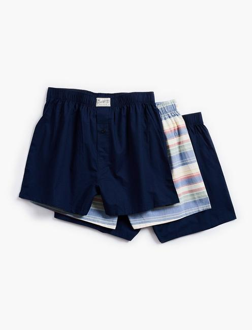 3 PACK WOVEN BOXER,