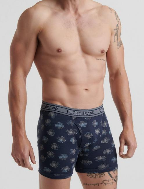 3 PACK COTTON BOXER BRIEF, MULTI