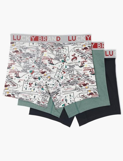 California Multi 3 Pack Boxers