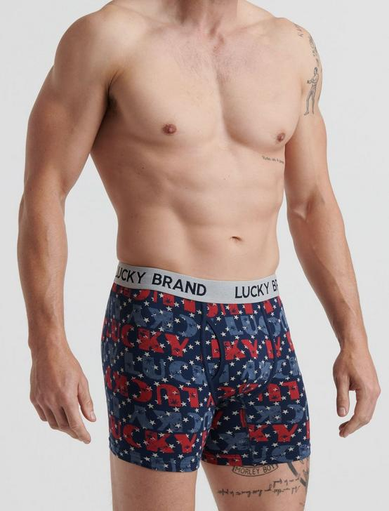 LUCKY BRANDED AMERICANA 3 PACK BOXERS, MULTI, productTileDesktop