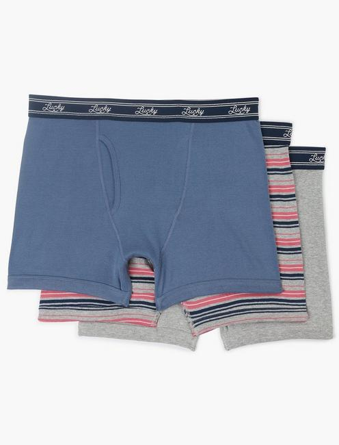 Multi Stripe 3 Pack Boxers