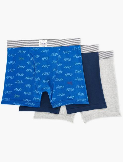 LUCKY BRANDED MULTI 3 PACK BOXERS, MULTI