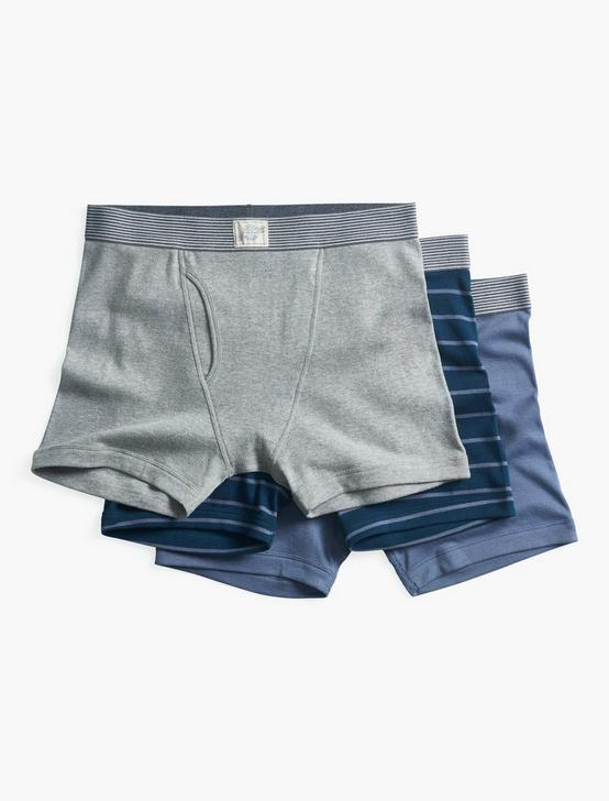 STRIPE MULTI 3 PACK BOXERS, MULTI, productTileDesktop