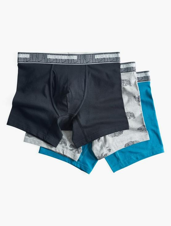 BEAR MULTI 3 PACK BOXERS, MULTI, productTileDesktop