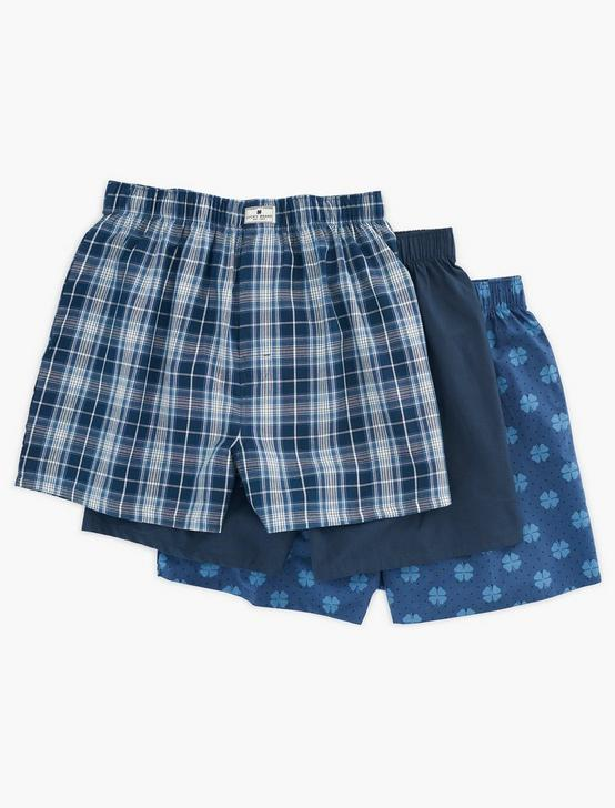 CLOVER PLAID MULTI 3 PACK BOXERS, MULTI, productTileDesktop