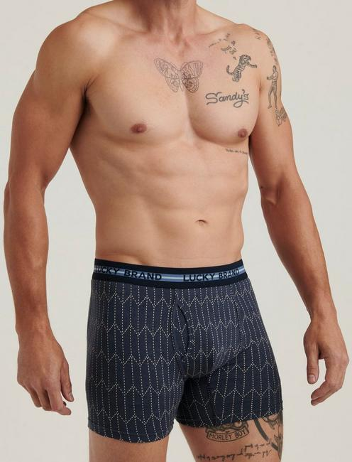 ARROW STITCH MULTI BOXER BRIEFS, MULTI