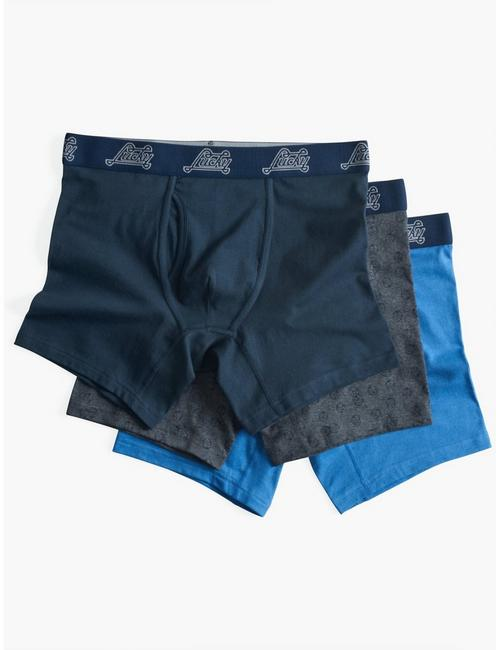 DICE MULTI 3 PACK BOXERS,