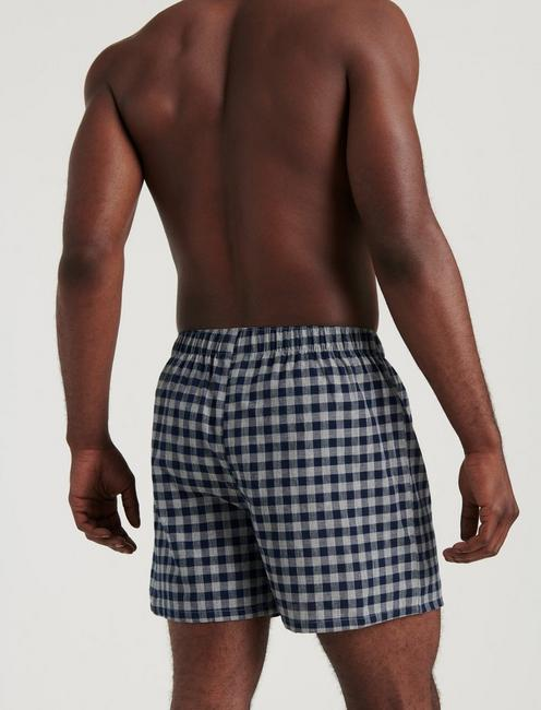 3 PACK WOVEN CHECK BOXERS, MULTI