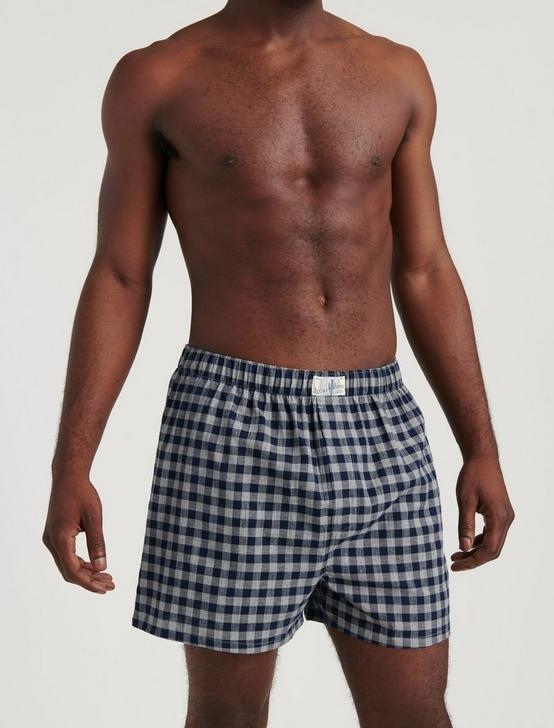 3 PACK WOVEN CHECK BOXERS, MULTI, productTileDesktop