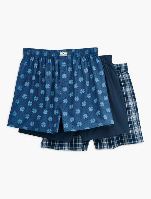3 PACK WOVEN BOXERS,