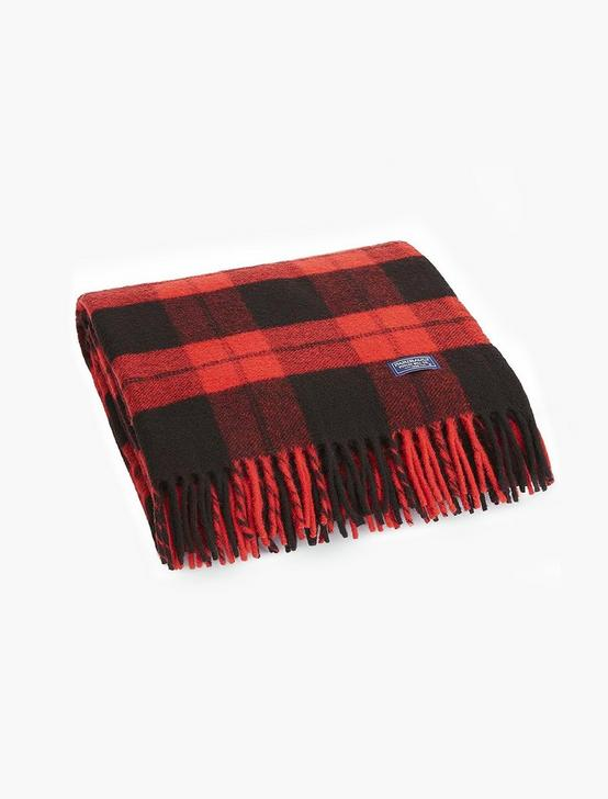 Faribault Bison Check Throw, MULTI, productTileDesktop