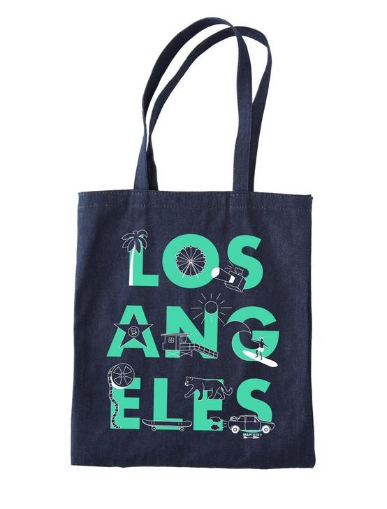 Maptote Los Angeles Denim Tote Bag, RINSE, productTileDesktop