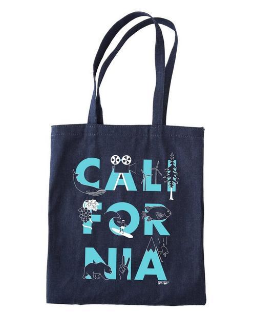 Maptote California Denim Tote Bag,