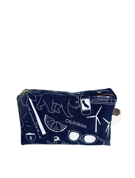 Maptote California Denim Dopp Kit, RINSE, productTileDesktop