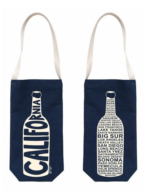 Maptote Denim Wine Tote,