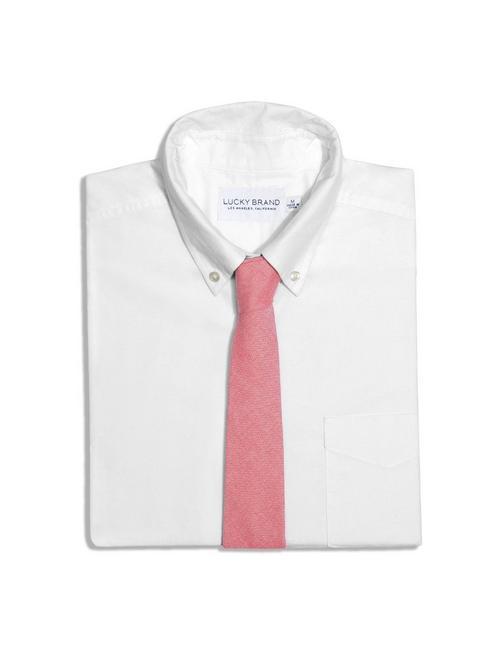 FORAGE RED CHAMBRAY TIE,