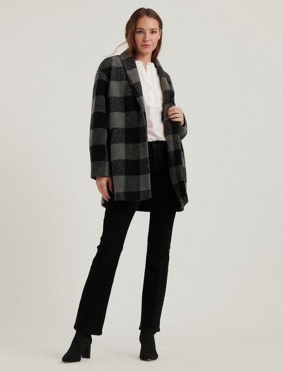 PLAID COAT, , productTileDesktop