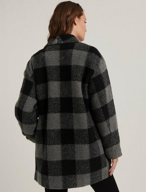 PLAID COAT,