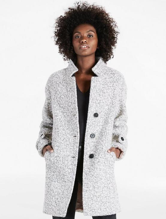 LIGHT GREY WOOL COAT, GREY, productTileDesktop