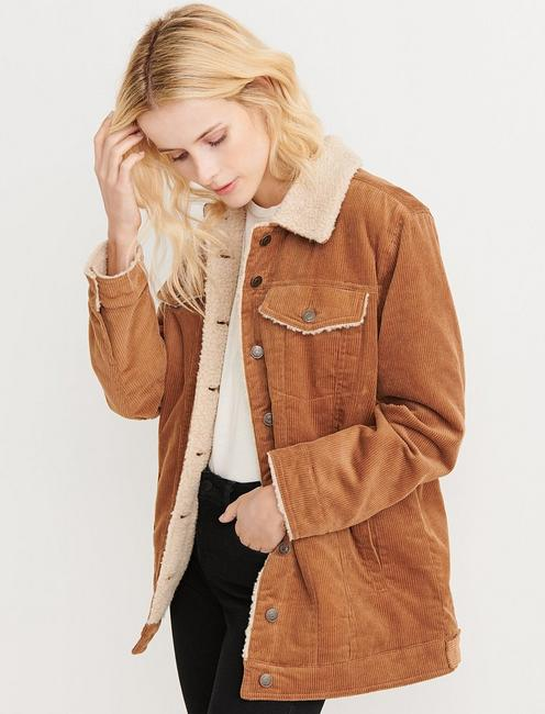 CORDUROY TRUCKER JACKET,