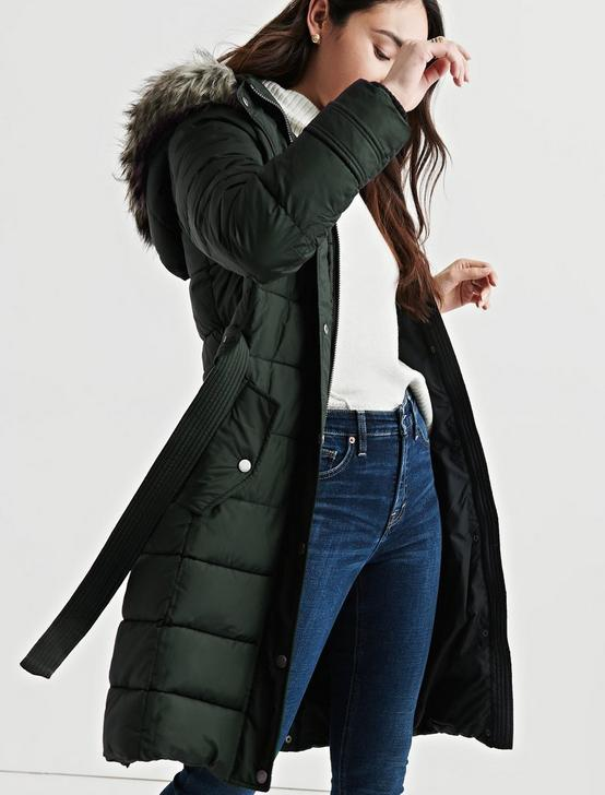 LONG PUFFER COAT, ARMY BRAT, productTileDesktop
