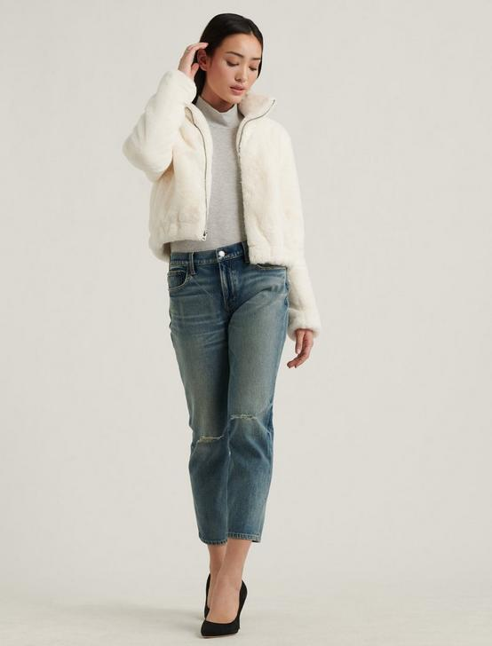 FAUX FUR JACKET, 104 CREAM, productTileDesktop